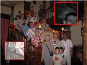 stairway ghost
